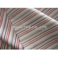 Buy cheap Soft Handfeel Cotton Nylon Fabric Spandex, Twilled Weave Stripe Cloth Material from wholesalers