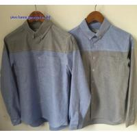 KM-604 Button down collar oxford shirts mens contrast oxford man shirts Manufactures