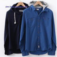 China KM-632 Hoddy casual dress shirts mens hoodies shirts on sale