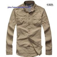 KM-611 Coolmax Mens long sleeve quick dry outdoor fishing shirts UV-protection shirts Manufactures