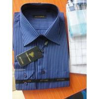 Buy cheap KM-390 Mens yarn dyed stirpes poly cotten dress shirts from wholesalers