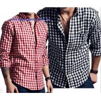 Buy cheap KM-565 Custom design mens flannel shirts muti color cotton flannel checks shirts from wholesalers
