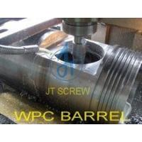 China WPC 65/132 conical screw cylinder,conical twin extruder screw on sale