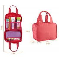 Womens double handles toiletry bag for travel Manufactures