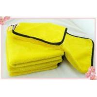 China high quality thick microfiber car wash towel in towel on sale