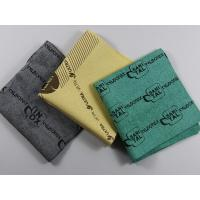 China Microfiber Cleaning cloth Microfiber Cleaning cloth PU coated Wipe on sale