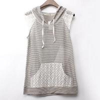 China Yarn Dyed Stripe Sweater Fabric Tank Top wholesale