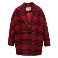China SH-354 Ladies woolen checkers coat on sale