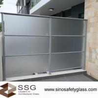 Buy cheap Acid Etched Glass from wholesalers