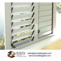 Buy cheap Acid Etched Louver glass from wholesalers