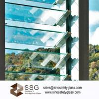 Buy cheap Louvre glass for window size152mm x 762mm* 6mm clear from wholesalers