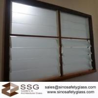 Buy cheap Louvre glass for bathroom window size152mm x 762mm* 6mm from wholesalers
