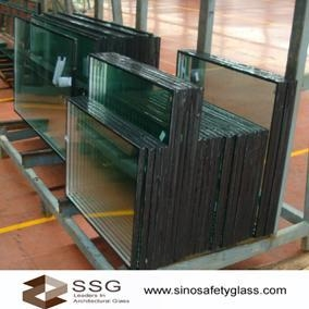 Light Weight Tempered Low E Insulated Glass Noise