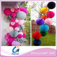 decoration party honeycomb paper ball Manufactures