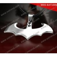 shiny polished batmen and nightwing stainless steel pendant Manufactures
