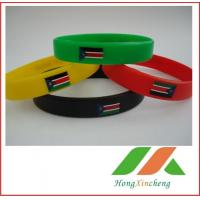 Printing silicone bracelet / wristbands Manufactures