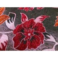 floral jacquard chenille upholstery fabric for sofa Manufactures