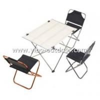 aluminium camping folding table and chair sets Manufactures