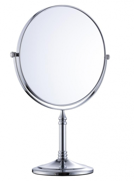 Hotel Project Bathroom Accessories Free Standing Cosmetic Mirror Item 3417 For Sale Of