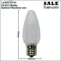 white led christmas lights c9 bulbs Manufactures