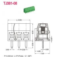 Euro Terminal Blocks -- TJ Series TJ381-08 Manufactures