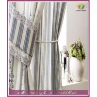 China New design 100% polyester printed window curtains wholesale