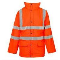 Winter 100 polyester oxford rainsuit reflective jacket Manufactures