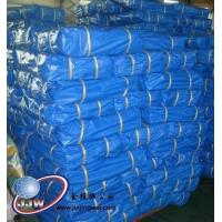Double blue laminated coated pe fabric Manufactures
