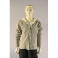 Men's sweat shirt with hoody and full zip Manufactures