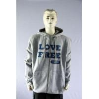 Men's hoodie sweatshirt with printing on chest Manufactures