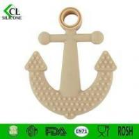 2015 new product Anchor Silicone Baby Teethers Manufactures