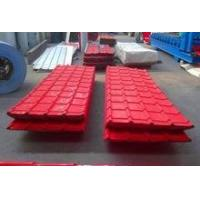 China Corrugated roofing sheet Colour corrugated roofing sheets to South Sudan on sale