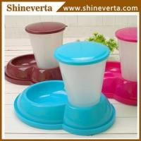 China plastic anti slip pet bowls Manufactures