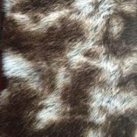 Buy cheap long pile high quality fake fur fabric, printed fur fabric from wholesalers