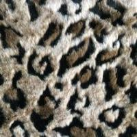 Buy cheap leopard fake fur fabric, polyester/acrylic fur fabric from wholesalers
