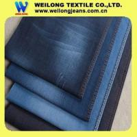 B3257-B cotton poly spandex denim jeans fabric made in china factory Manufactures