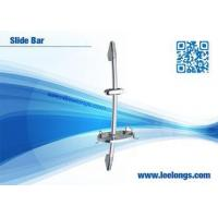 China Sliding Shower Bar Shower Fixtures With Abs Chrome Plated Soap Dispenser on sale