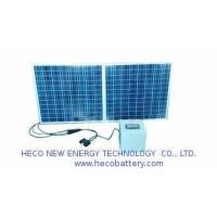 Buy cheap Solar Energy 24V LifePO4 battery Pack 40AH Compact With Solar Charger and PV Panel from wholesalers