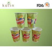 China FDA and EU certified 6-color printing cold drink paper cup on sale