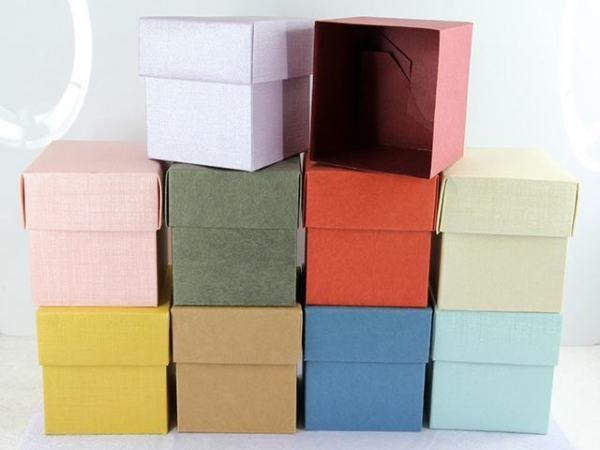 Quality Gift Box Elegant And Graceful Various Designs Cube Boxes For Candy for sale