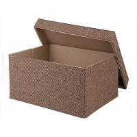 Gift Box Fancy New Style Cube Recycled Handle Kraft & White Cube Gift Boxes Manufactures