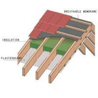 Breathable membrane for pitched roof Manufactures
