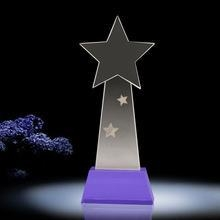China Curved and Gray Stone Crystal Star Award for Music Show