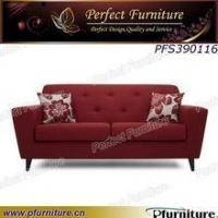 PFS390116 Red color fabric sofa modern Manufactures