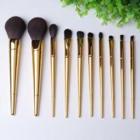 Buy cheap 2016 new design private label 10 pcs makeup brush set from wholesalers