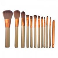 wholesale synthetic hair makeup brush set with tin box Manufactures