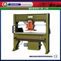CH-858 30T hydraulic travelling head leather shoe manufacturing machine Manufactures