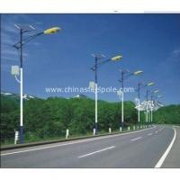 Outdoor solar wind street Lamp post for sale Manufactures