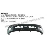China Toyota Hilux Vigo 2004-2007 Front Bumper With Fog Lamp Hole Without Wheel Browhole on sale