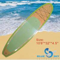 China bamboo stand up paddle board on sale